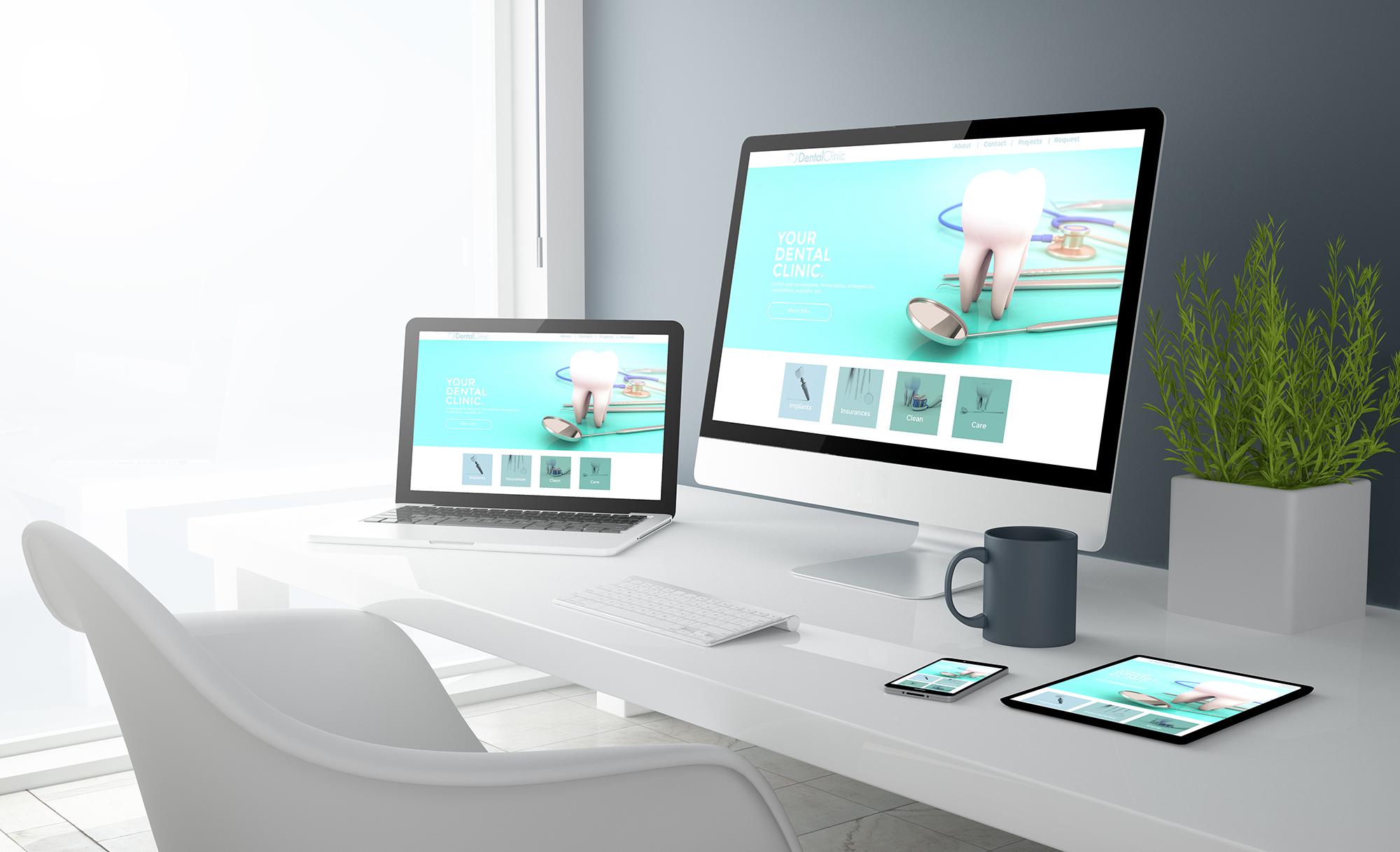 Your Dental Website's First Impression